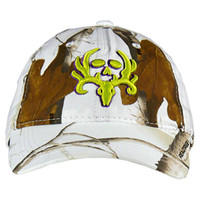 Women's White Camo Hat