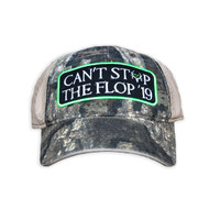 2019 Cant Stop The Flop Hunting Hat
