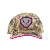 BC Women's Shield - Pink/Realtree Edge Hat