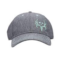 BC Heather Grey/Aqua Teal Performance Hat