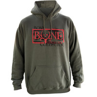 Bone Collector Negative Hoodie Army Green