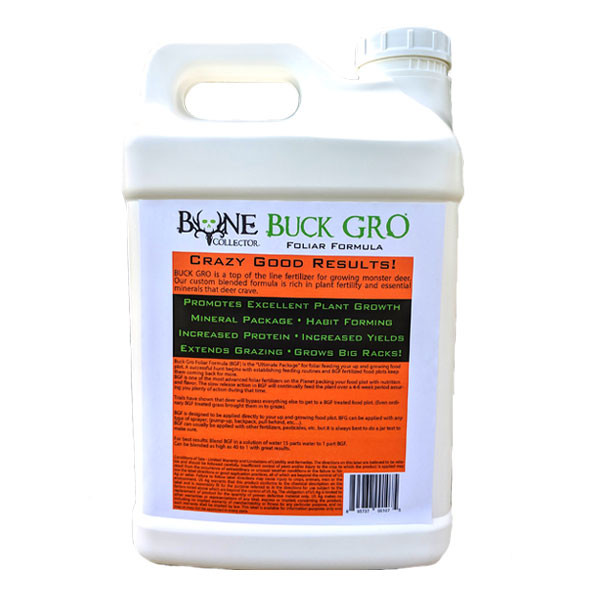 Foliar Formula 2.5 Gallon Back