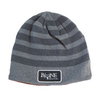 Acrylic Stripes Reversible Beanie