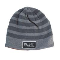 Acrylic Stripes Reversible Beanie
