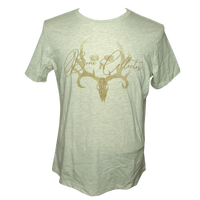 Women's Script Bone Collector Tee (Heather Prism)