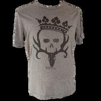 Women's Princess Crown T-shirt (Grey/Triblend)