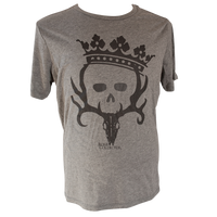 Women's Princess Crown T-shirt (Grey/Triblend)