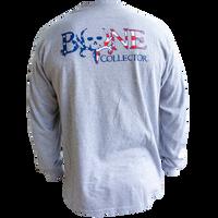 American Flag BC Logo L/S – Grey / Americana
