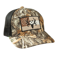 Bone Collector GA Flag Hat (Realtree Edge/Black)