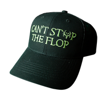 Can't Stop The Flop Black Mesh Back Cap