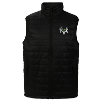 Men's BC Black Puffy Vest