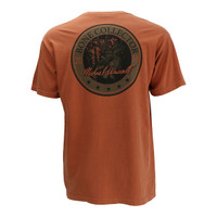 Men's BC Circle Tee - Burnt Orange