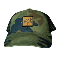 Women's Generic Camo Bone Collector Cap