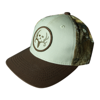 Putty Tri Color Circle Patch Hat