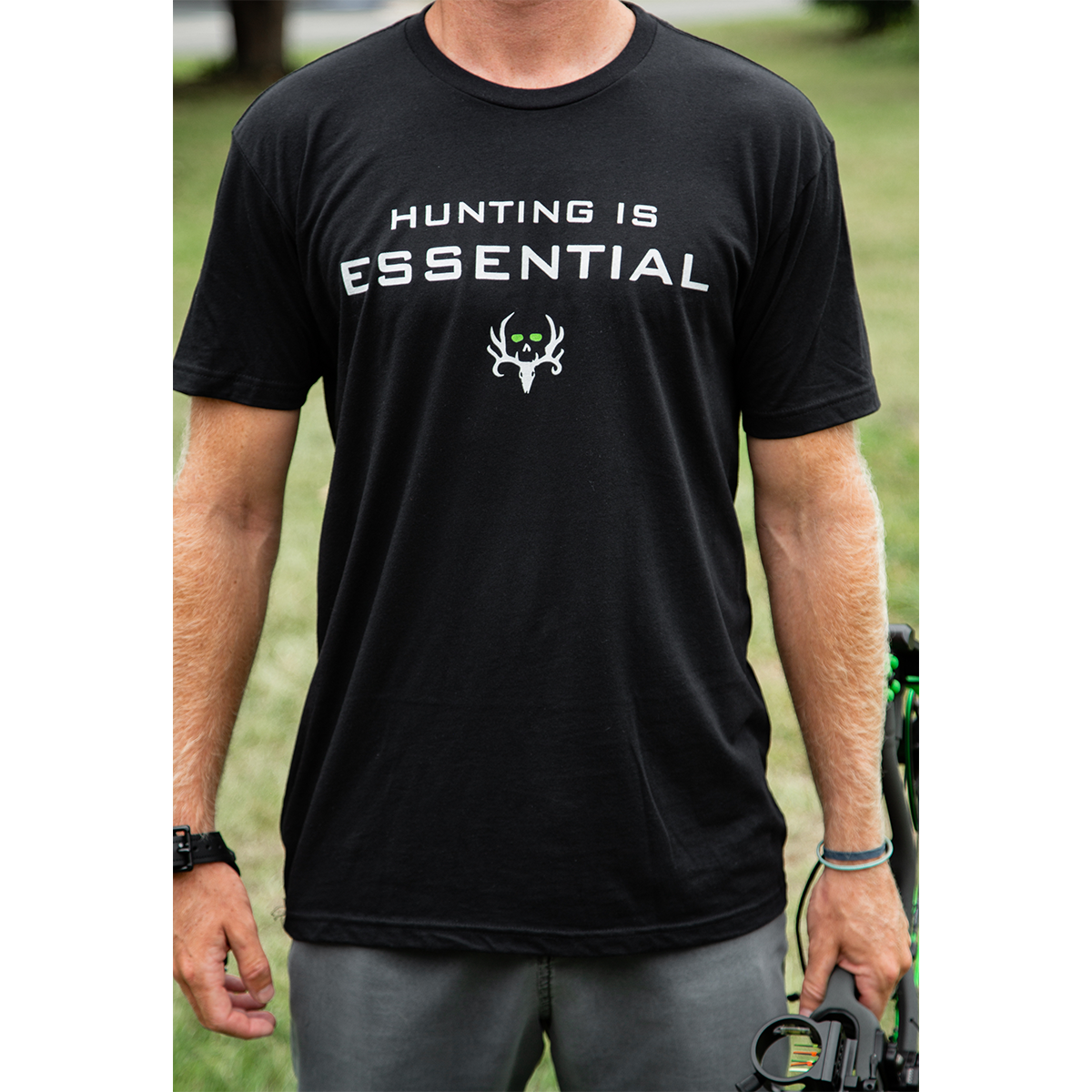 Bone-Collector-Hunting-is-Essential-Tee-1