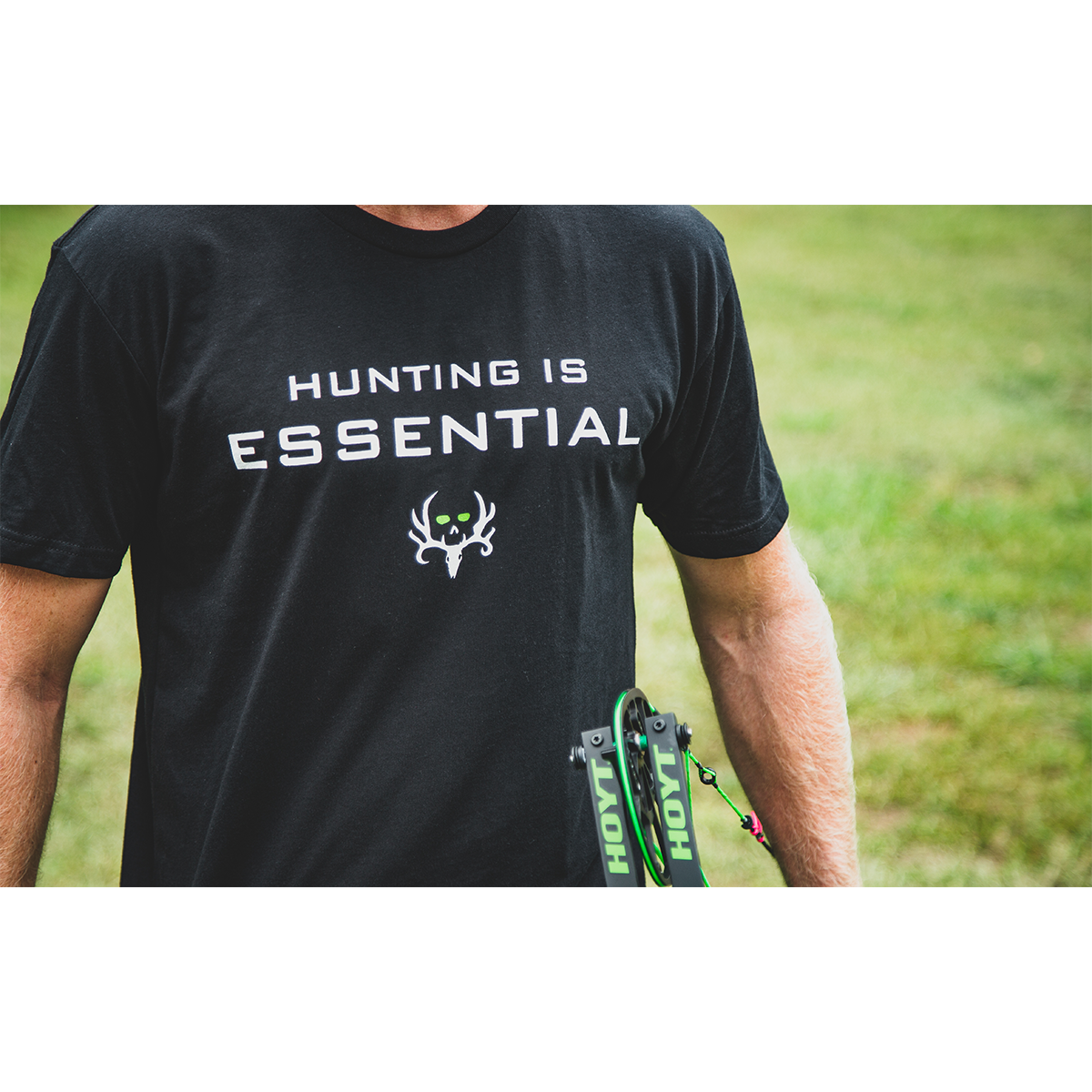 Bone-Collector-Hunting-is-Essential-Tee-2