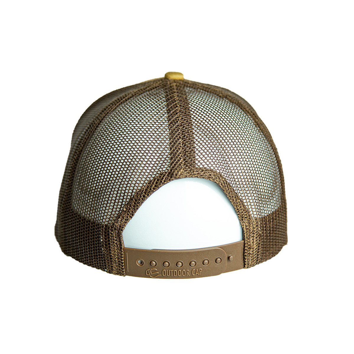 Buckskin Leather Patch Snapback Hat back