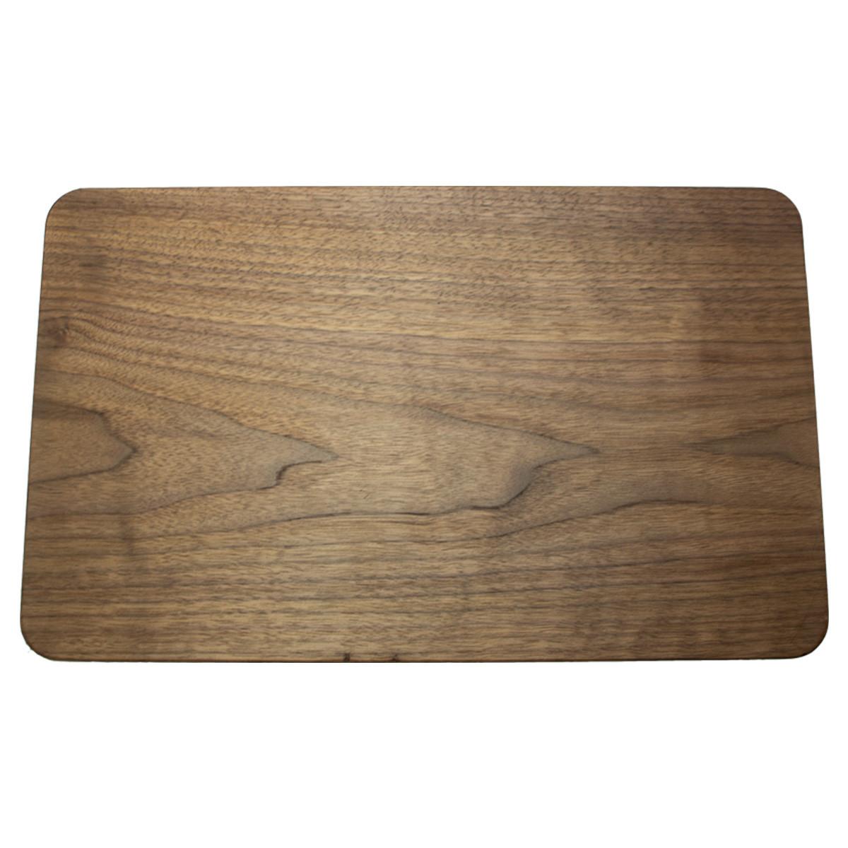 Bone Collector Cooking Solid Walnut Cutting Board Back