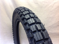 3.00 X 17 KENDA TYRE K262 BLOCK TRAIL TREAD CT110 NBC110