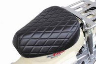 SEAT COVER SUPERCUB CT125, NBC110 DIAMOND STITCH BLACK