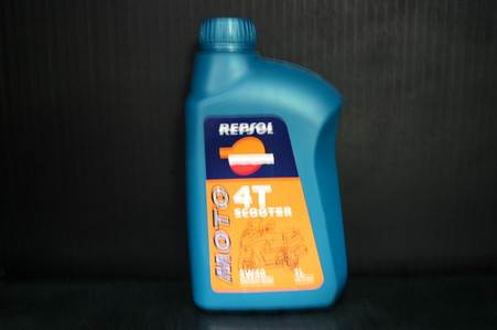 Repsol Moto Scooter 4T 5W40 is a semi-synthetic lubricant oil which repsol has specifically designed for 4-stroke scooters. It's characteristics include excellent engine protection. It maintins maximum performance at a wide range of temperatures and in the most diverse riding conditions. Shuch as , for example the typical stop start urban riding or the tremendous accelerations from a medium speed. •5W40 API SJ •JASO T903:2006 MA