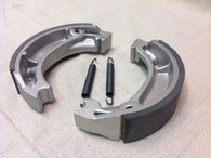 CT110 BRAKE SHOES FRONT OVERSIZE ALL MODELS