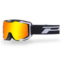 3404 Menace 2017 Black Frame / Red Iridium Lens Progrip Goggle