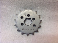 15 TOOTH FRONT SPROCKET CT110