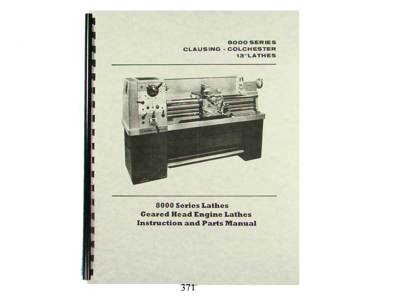 Atlas 10 Inch Parts List F Series Lathes /& Millers