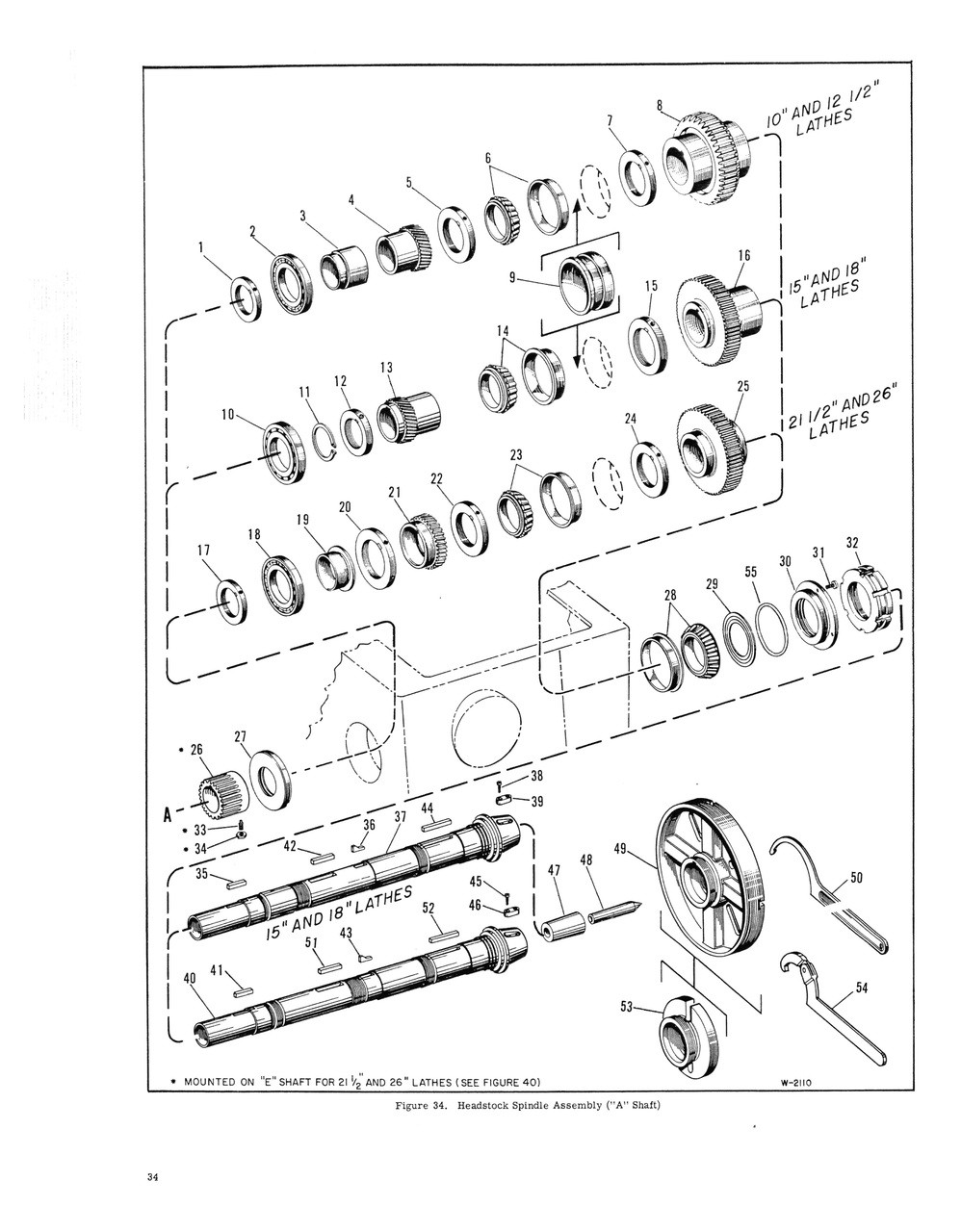 Cincinnati LRT Hydrashift Lathe Service Manual /& Parts List  *474