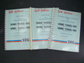 ZPS Vertical Machining Center VMC1050/24-1050/40 Manual Set Maint, Serv & Parts
