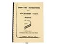 Barnesdrill H3 & H4 Hydram Drilling Machine Operators & Parts List Manual  Cover
