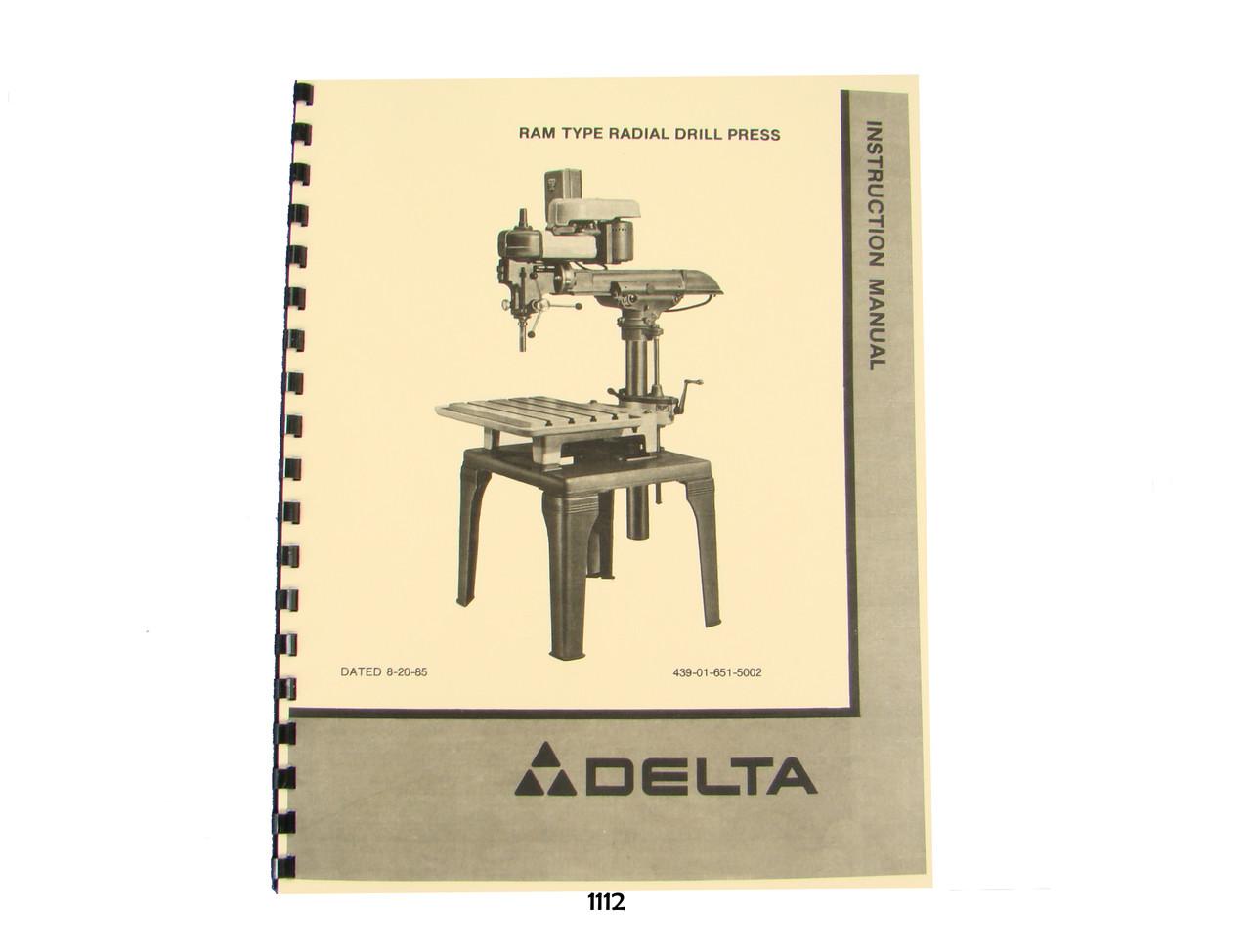 "Delta Rockwell Quill Return Spring Adjusting Screw 14/"" 15/"" Drill Press DP-225"