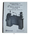 Rockwell Lathe Cover 1513