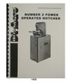 Di-Acro #2 Power Operated Notcher Operator & Instruction Manual  #1488