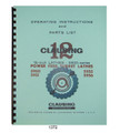 Clausing Lathe Cover 1372
