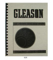 Gleason 20 Deg Straight Bevel Gear System Tables Manual  #826