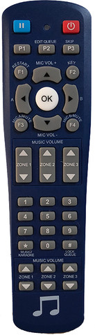 T1 jukebox remote compatible with TouchTunes jukeboxes