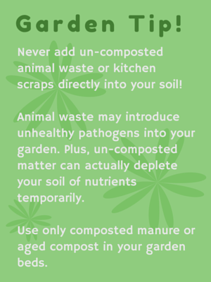 Garden Composting Tip from Great Garden Supply