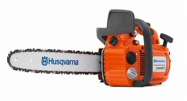 """Husqvarna-338XPT-Chainsaw-with-14""""-bar-and-chain"""