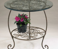Deer Park Round Table, 22 In. W x 22 In. D x 22 In. H