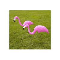 NOVELTY-30200-Pair-of-Pink-Flamingo-Set-of-two