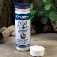 ORGANICA POND TABLETS Microbial-Based Pond Clarifier MAINTAINS 30,000 GALLONS