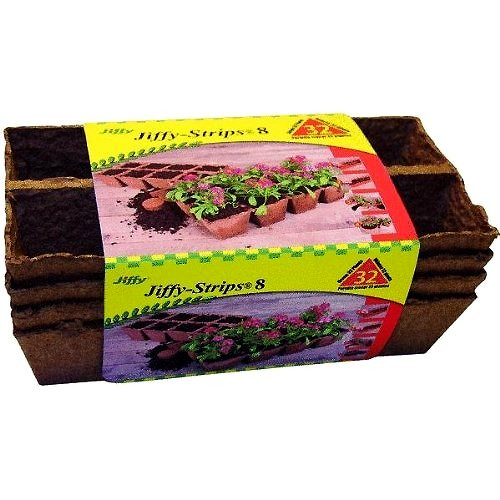 """Jiffy-Peat-Strips-2.5""""-4-strips-(32-count)"""