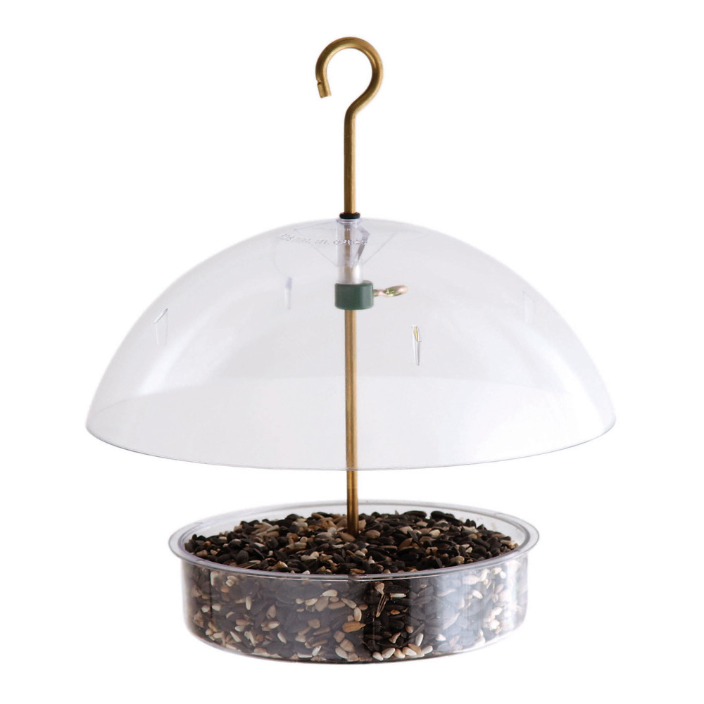 Droll-Yankees-Seed-Saver-Domed-Feeder