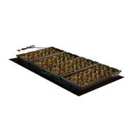 """Hydrofarm-48""""x20""""-Seedling-Heat-Mat-107watts"""