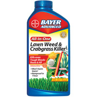 Bayer 32oz All In One Lawn Weed & Crabgrass Killer Conc