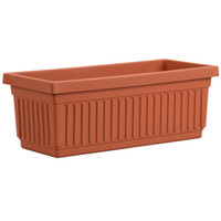 Akro 24'' Venetian Flower Box Clay