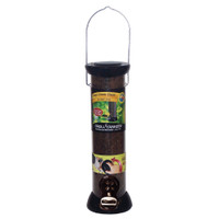 "Droll-Yankees-12""-Onyx-Nyjer-Tube-Feeder-w/Removable-Base"