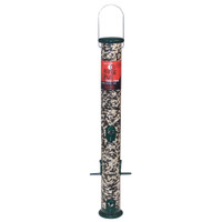 Droll Yankees 23in Forest Green Ring Pull Tube Seed Feeder